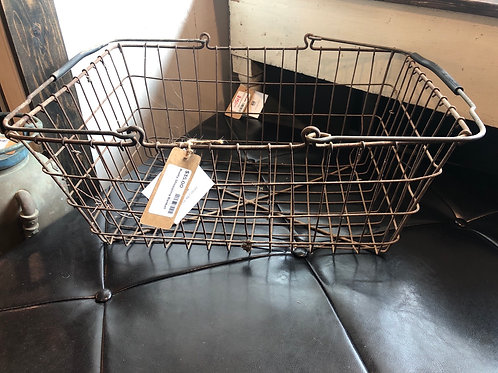 Old shopping basket