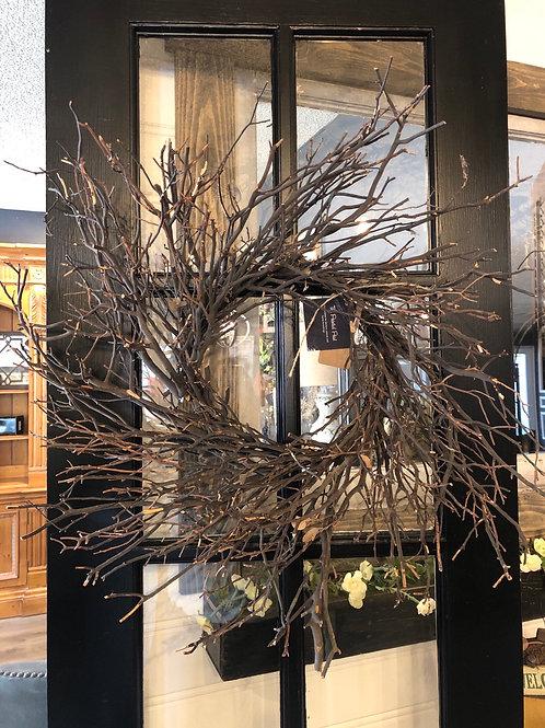 Manzanita wreath