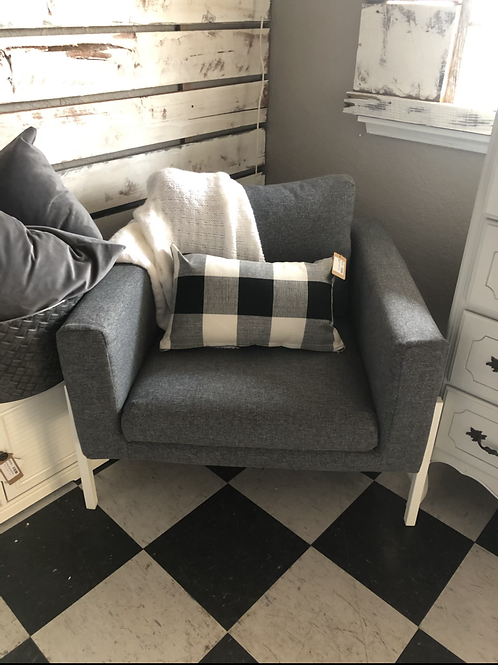 Modern grey chair
