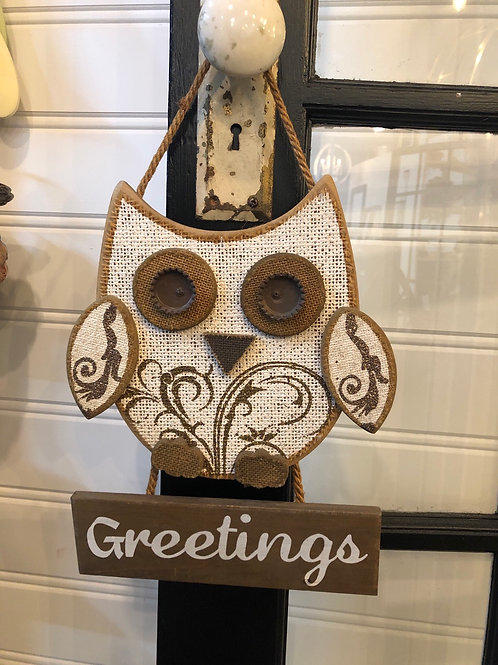 Owl greetings