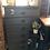 Thumbnail: Tall grey dresser
