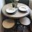 Thumbnail: Adjustable industrial dining set