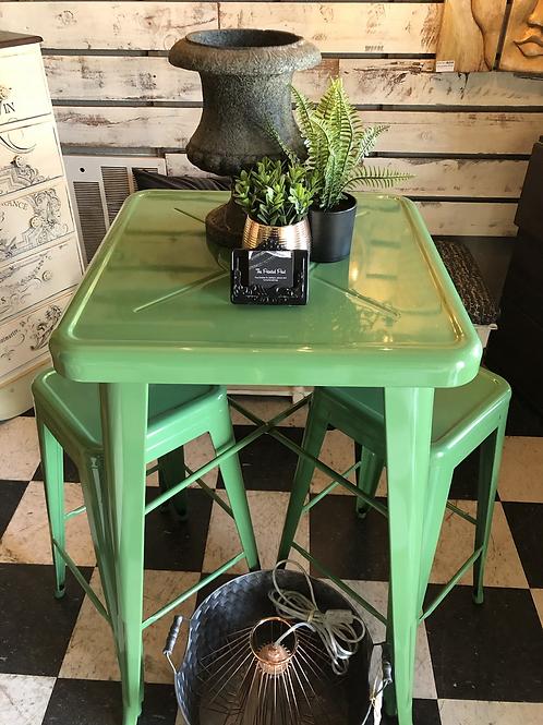Green high top set