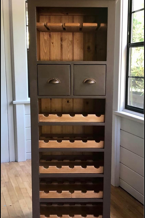 Awesome wine cabinet