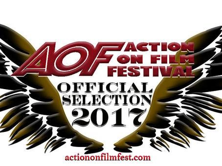 Night Terror Trailer selected for Action on Film Festival