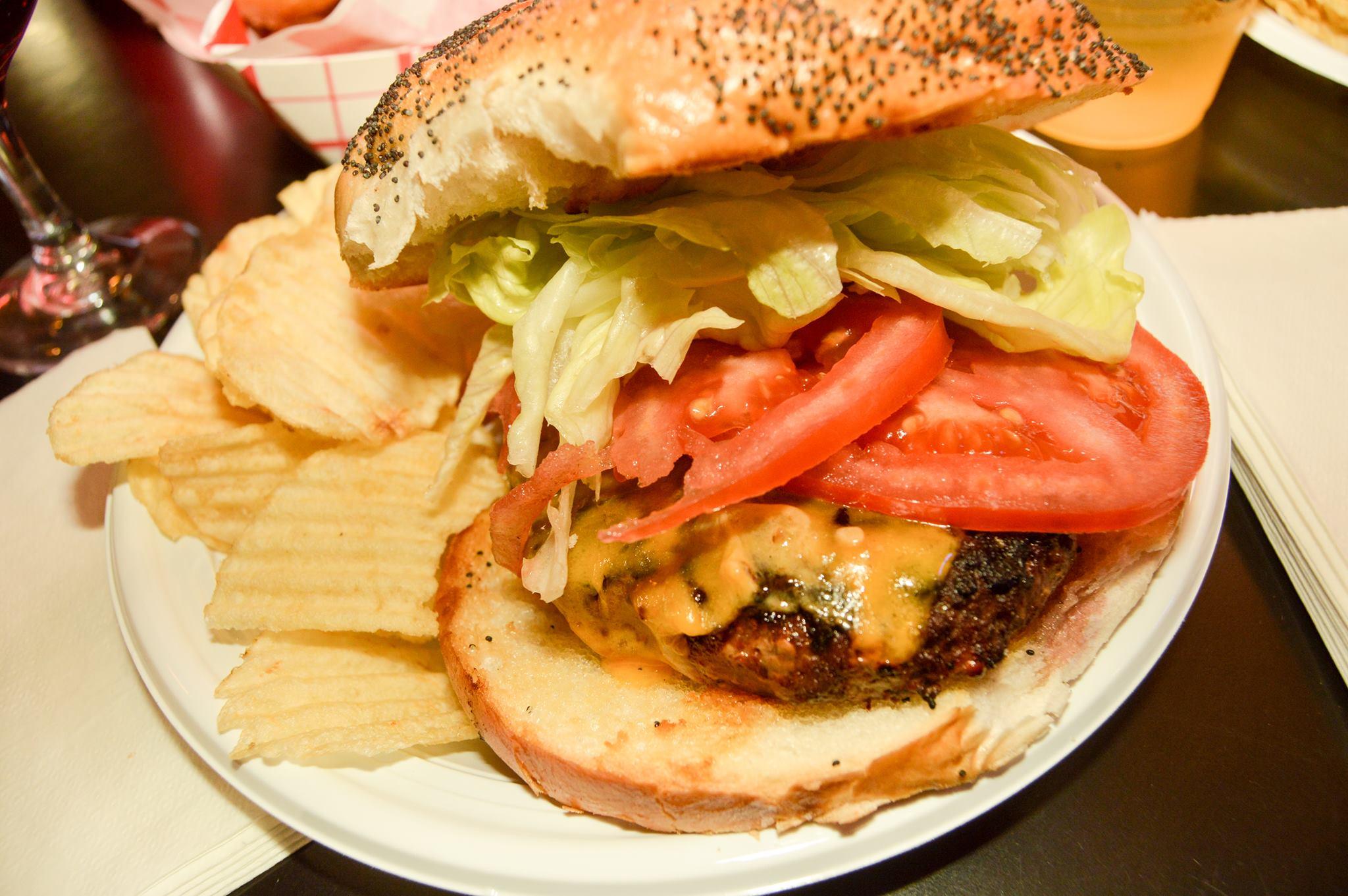 Garwood Lanes Burger 2