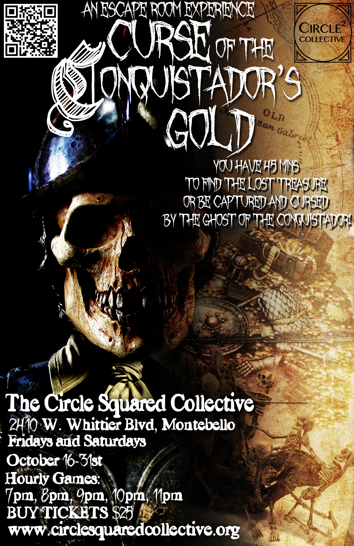 Curse of the Conquistador's Gold Poster