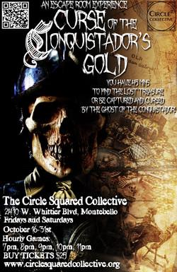 Curse of the Conquistador's Gold Poster