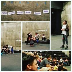 Working with el teatro campesino