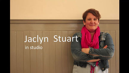 Jaclyn's art studio St Andrews.