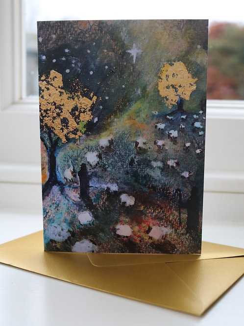Pack of 5  mixed Christmas cards