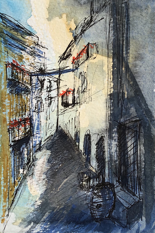 Alley in Siracusa