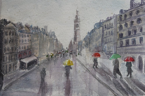 Rainy day Edinburgh Number 2