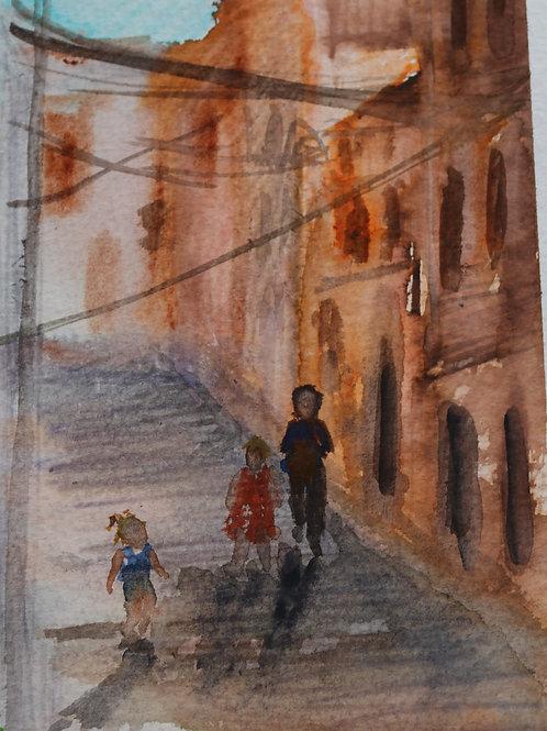 Toredembarra street, Spain