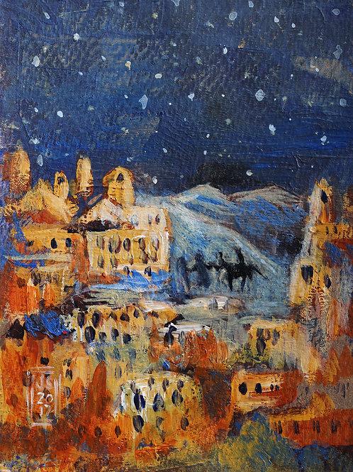 Arriving in Bethlehem