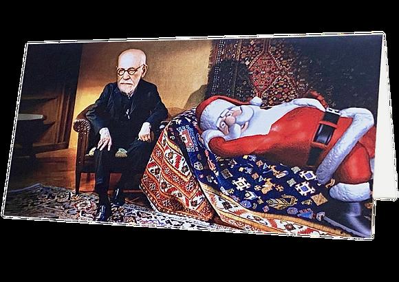 Weihnachtsmann bei Freud