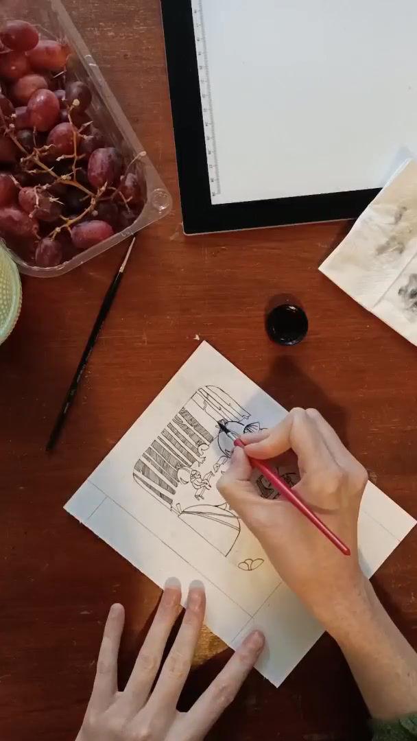 Proces video inktober