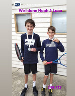 Well Done Luca and Noah