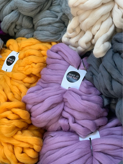 Make Your Own Kailey Blanket in the colour and stitch of choice