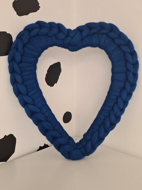 40cm Fusion Heart Wreath