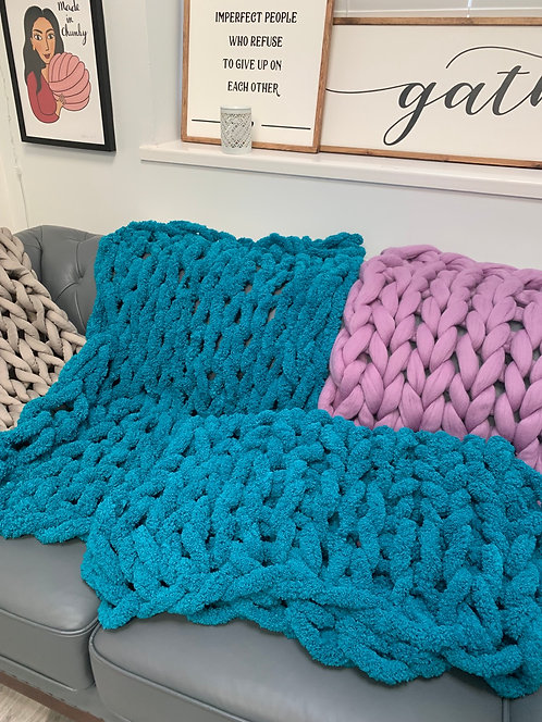 Lap/Chair Chenille Blanket