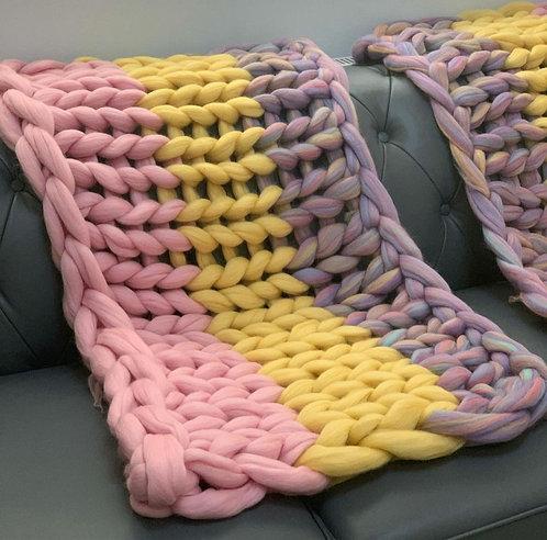 Unicorn inspired Kailey Blanket