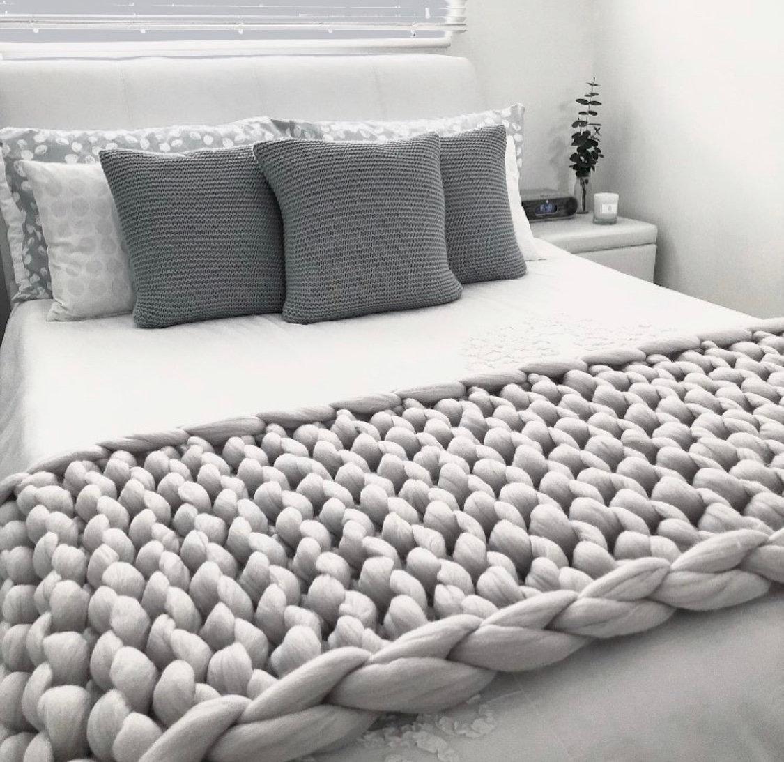 Merino Bed Runners Made In Chunky
