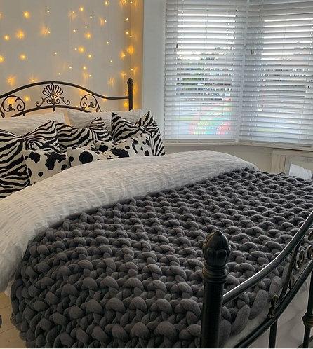Granite Valencia Sofa Blanket or Bed Blanket