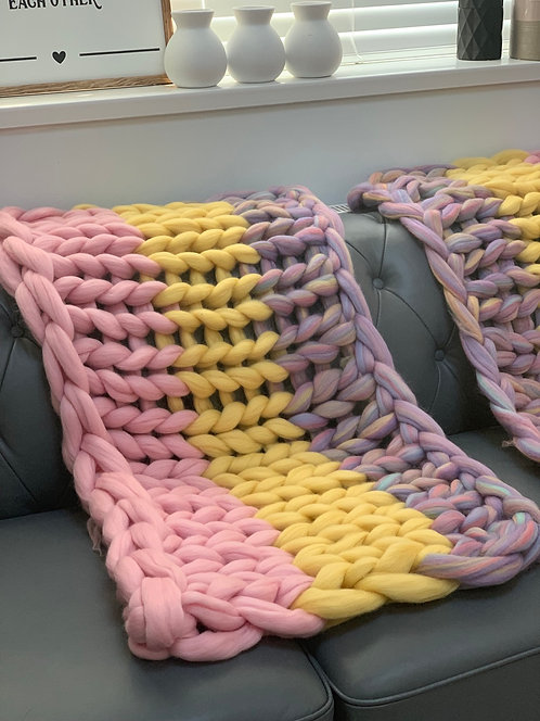 Unicorn Inspired Blanket