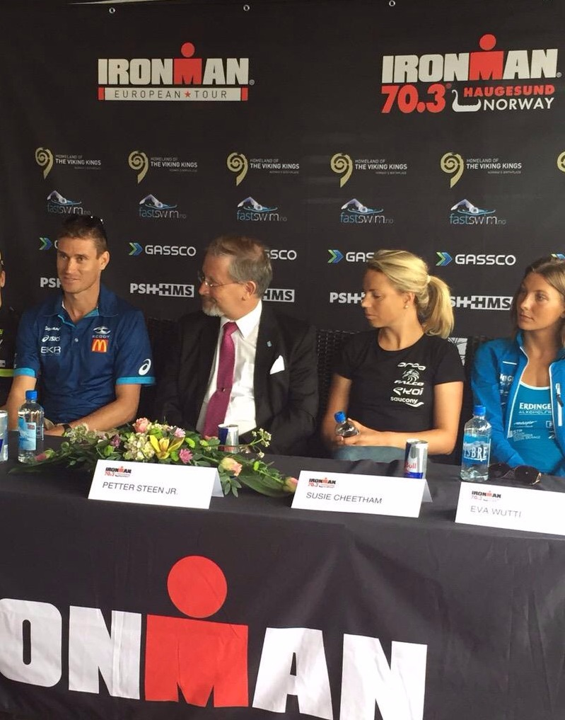 press conf ironmn norway susie cheetham