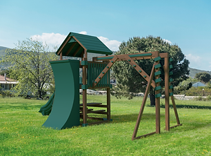 Playset, Playground,Medium Yard,Swing Kingdom