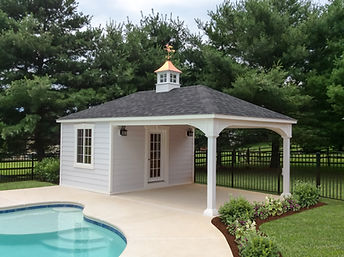 Pavilion, Poolhouse