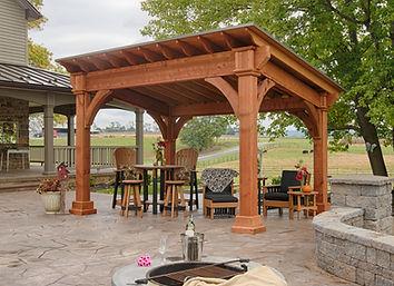 Pavilion, Backyard