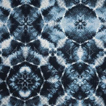 Fabric C - Authentic Indigo