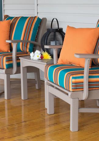 Weatherwood Bayshore Club Chairs