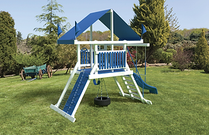 Playset, Playground,Small Yard,Swing Kingdom
