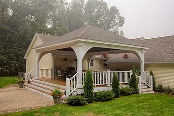 Pavilion, Backyard, Deck