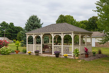 Gazebo, Backyard