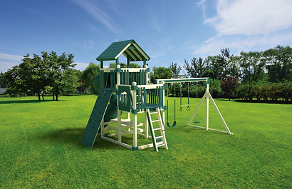 Playset, Playground,Medium Yard,Swing Kingdom