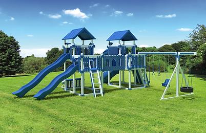Playset, Playground,Large Yard,Swing Kingdom