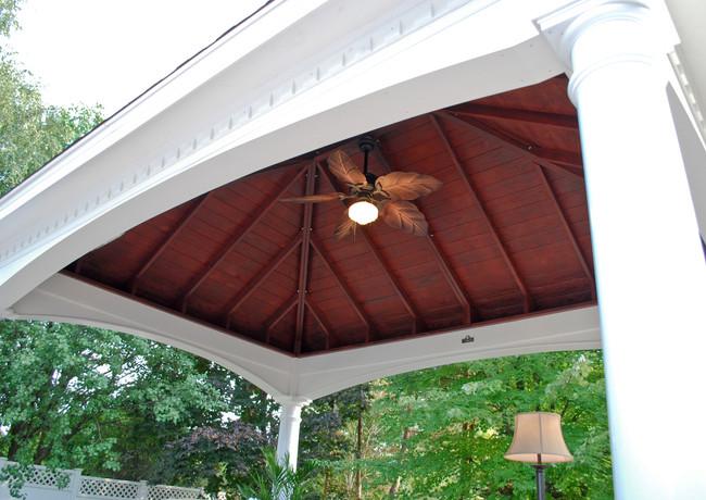12'x16' Hampton Pavilion Ceiling View -