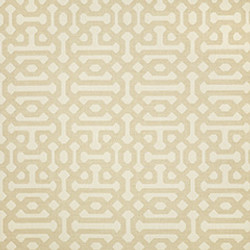 Fabric C - Fretwork Flax
