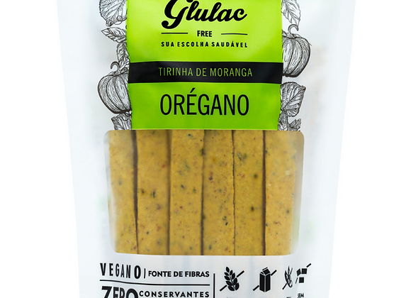 Tirinha de moranga com orégano Glulac - 100g