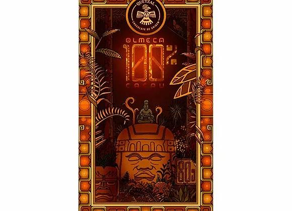 Chocolate quetzal Olmeca - cacau 100% - 80g