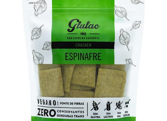Cracker de espinafre Glulac - 100g