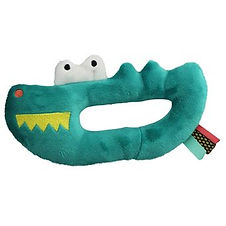 EBULOBO-Hochet-musical-Crocodile-velours