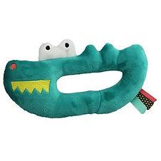 EBULOBO-Hochet-musical-Crocodile-velours