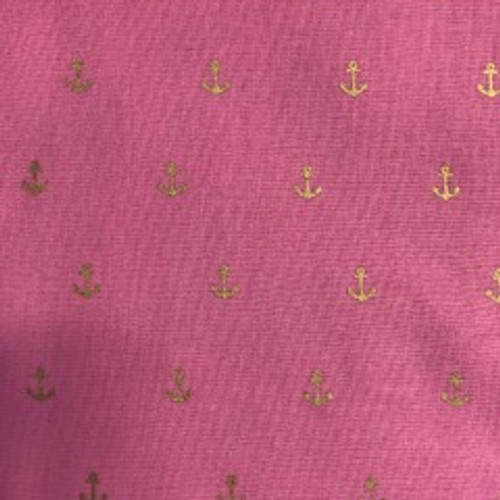 Pink Anchor 8 99 All Of Our Items Are 100 Hand Crafted In America Durable Cotton Fabric With A Woven Mesh Interfacing For Added Durability