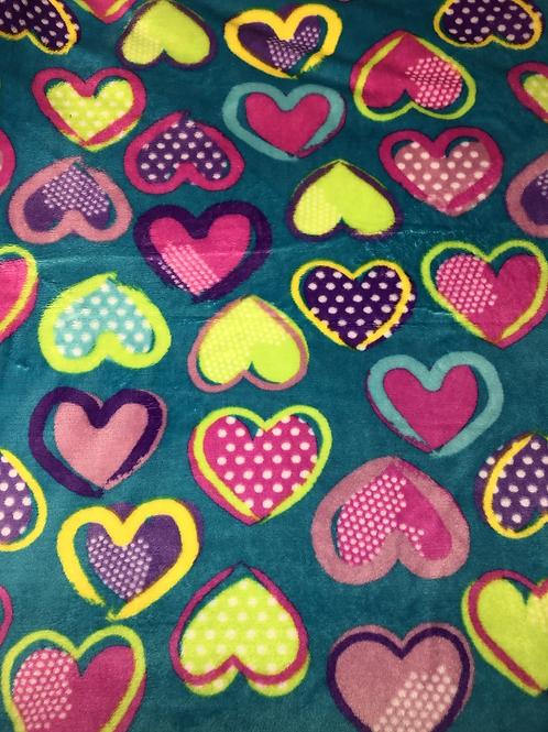Hearts Fleece