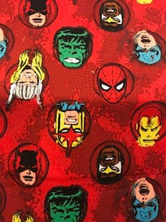 Red Marvel Heroes